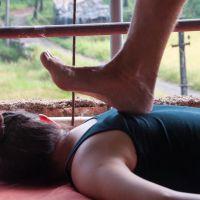 ayurvedisk gå massage